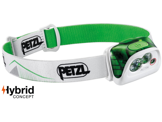 Petzl Actik Otsalamppu, green